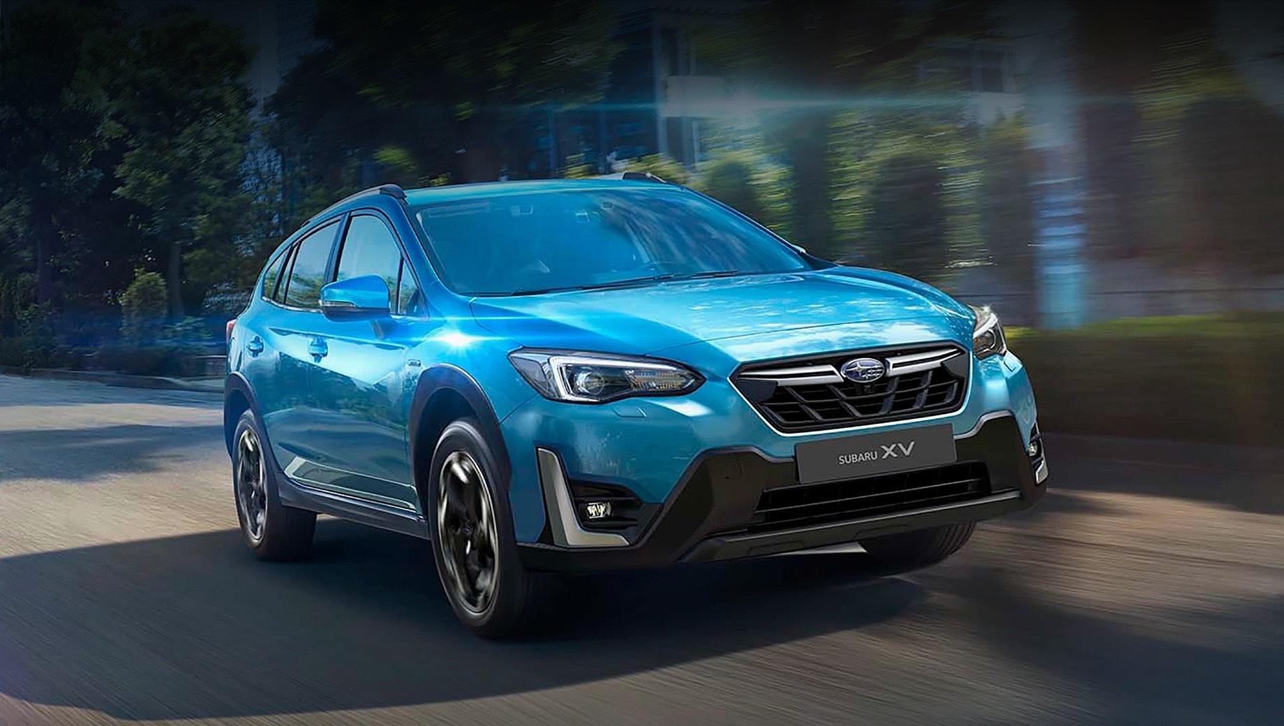 Обновлённый кроссовер Subaru XV доберётся до России весной