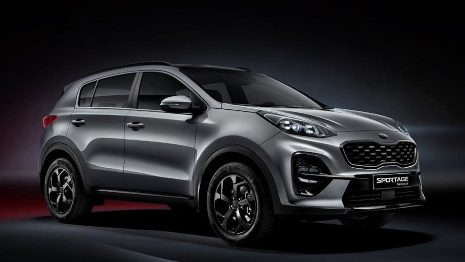 Дополнено: Kia Sportage Black Edition добрался до России