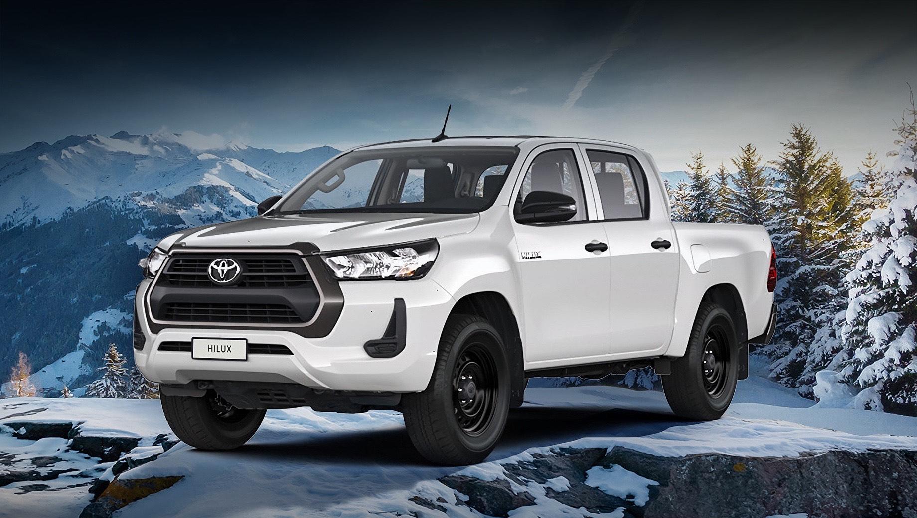 Пикап Toyota Hilux получил бензиновый мотор и стал аскетом