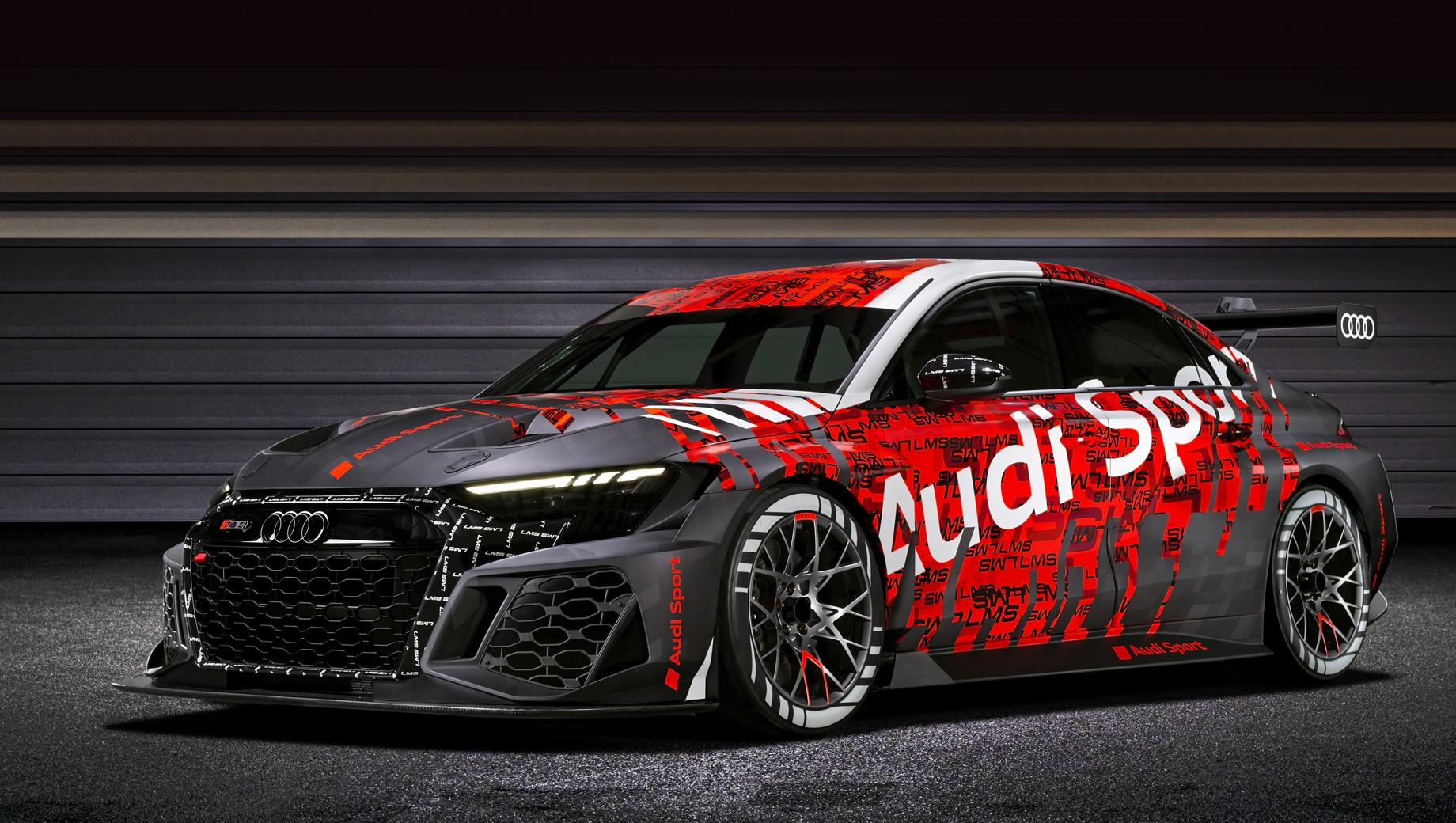 Audi RS 3 LMS пообещал лучше подстраиваться под трассу