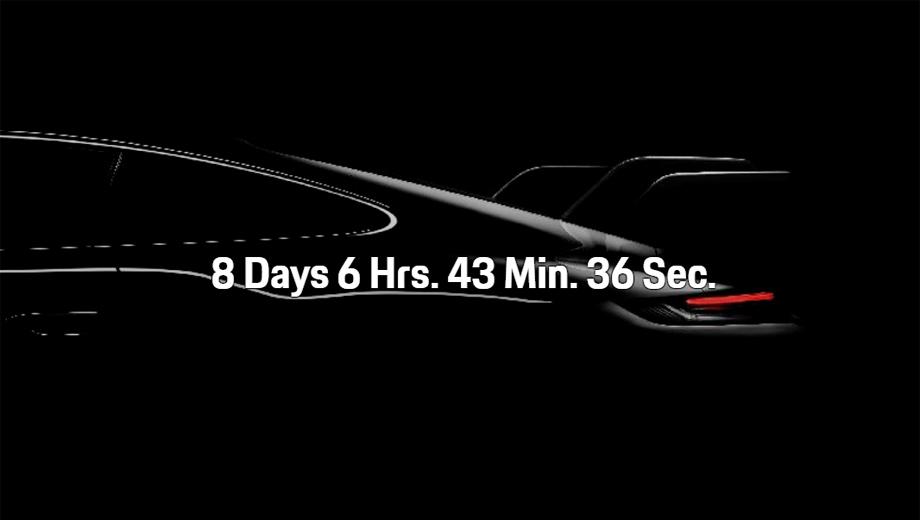 Таинственный Porsche 911 GT дебютирует через неделю