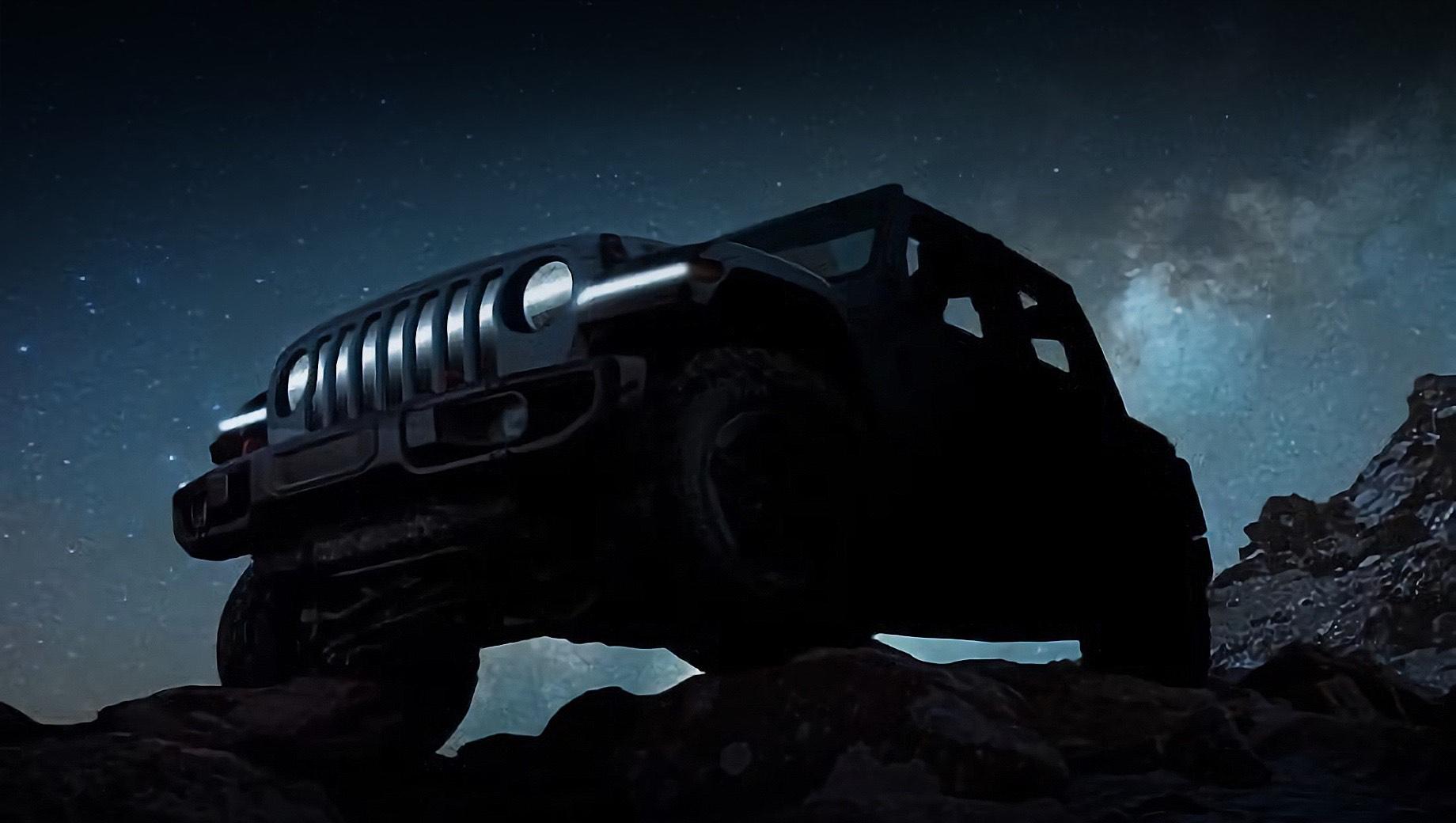 Электрический Jeep Wrangler покажется в марте как концепт