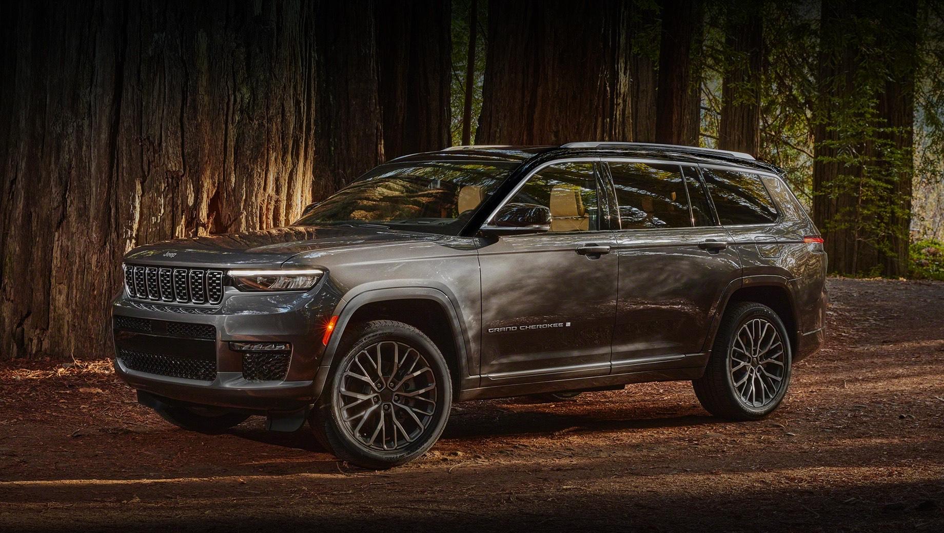 Американцы открыли приём заказов на Jeep Grand Cherokee L