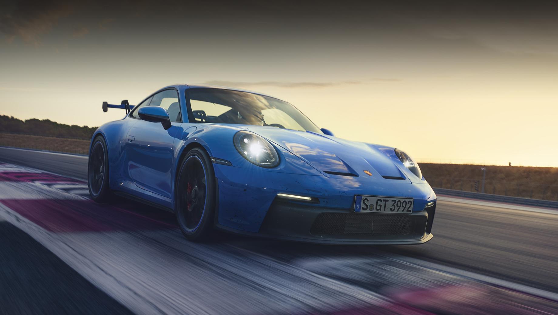 Porsche 911 GT3 привёз прошлому купе 17 секунд на Нюрбургринге