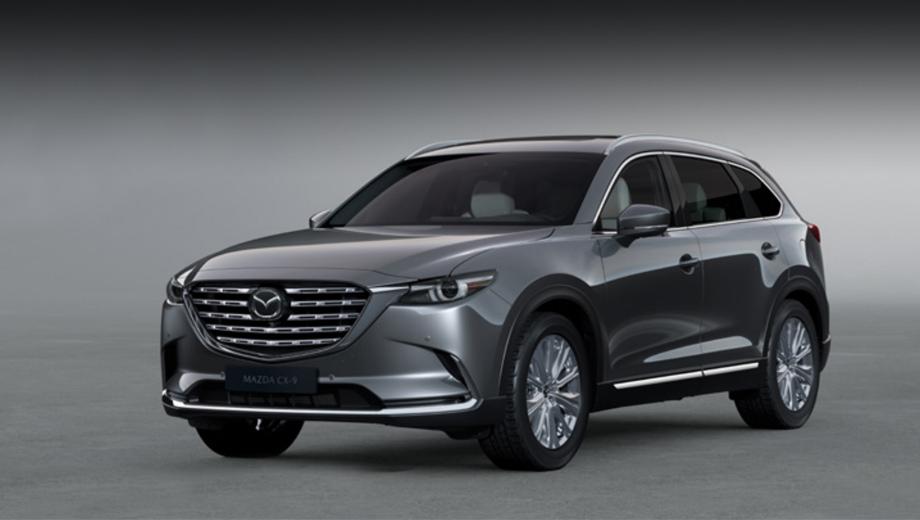Дополнено: Объявлены все цены на Мазду CX-9 в России