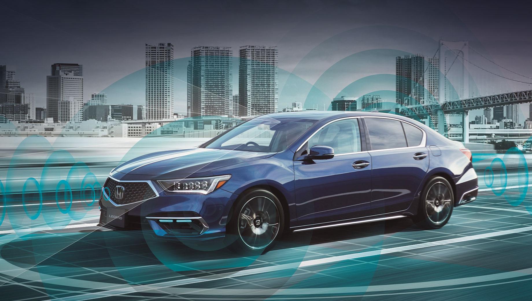 Комплекс Honda Sensing Elite разрешил вождение без рук
