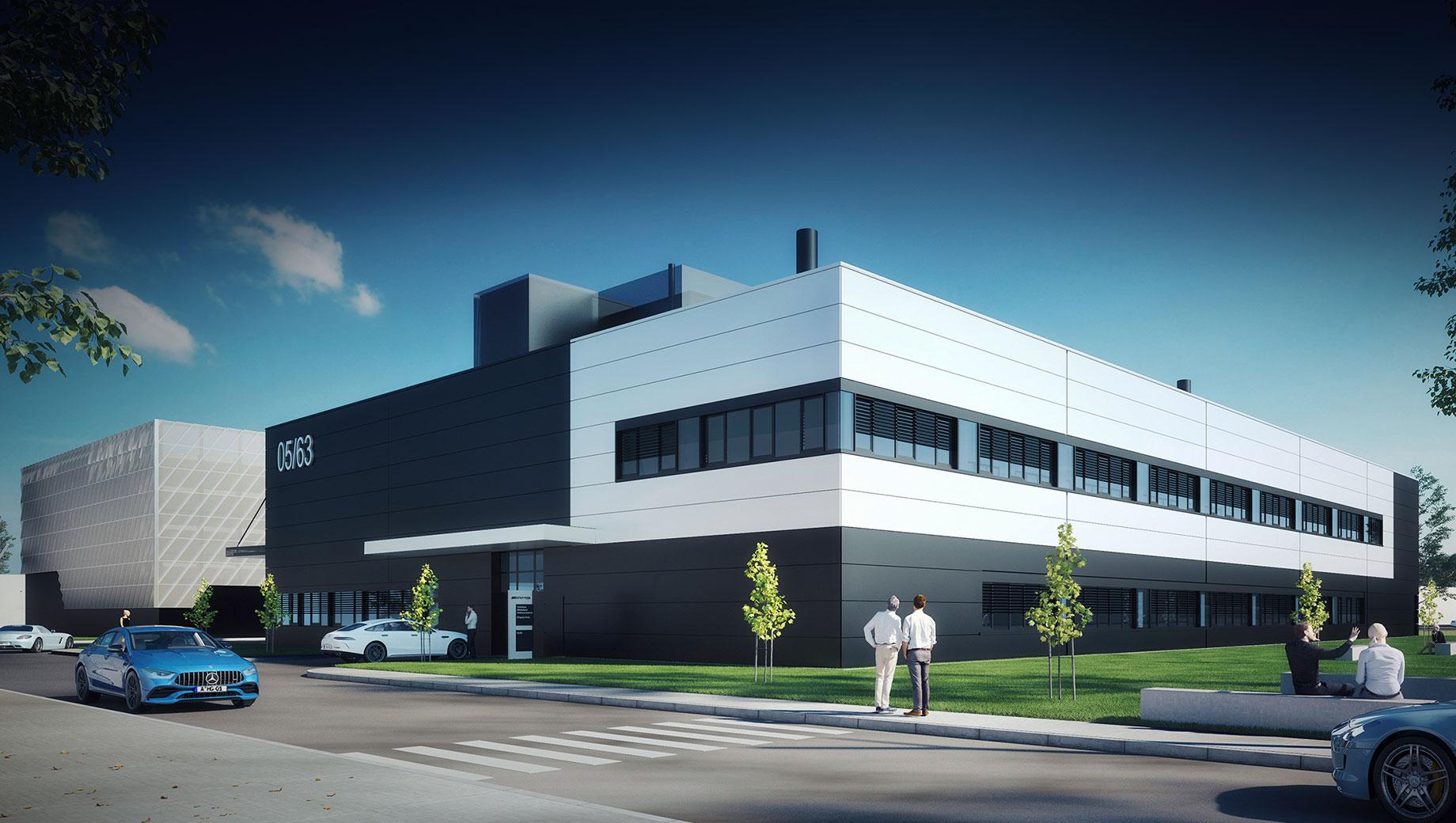 Отделение Mercedes-AMG построит «техникум» для электрокаров