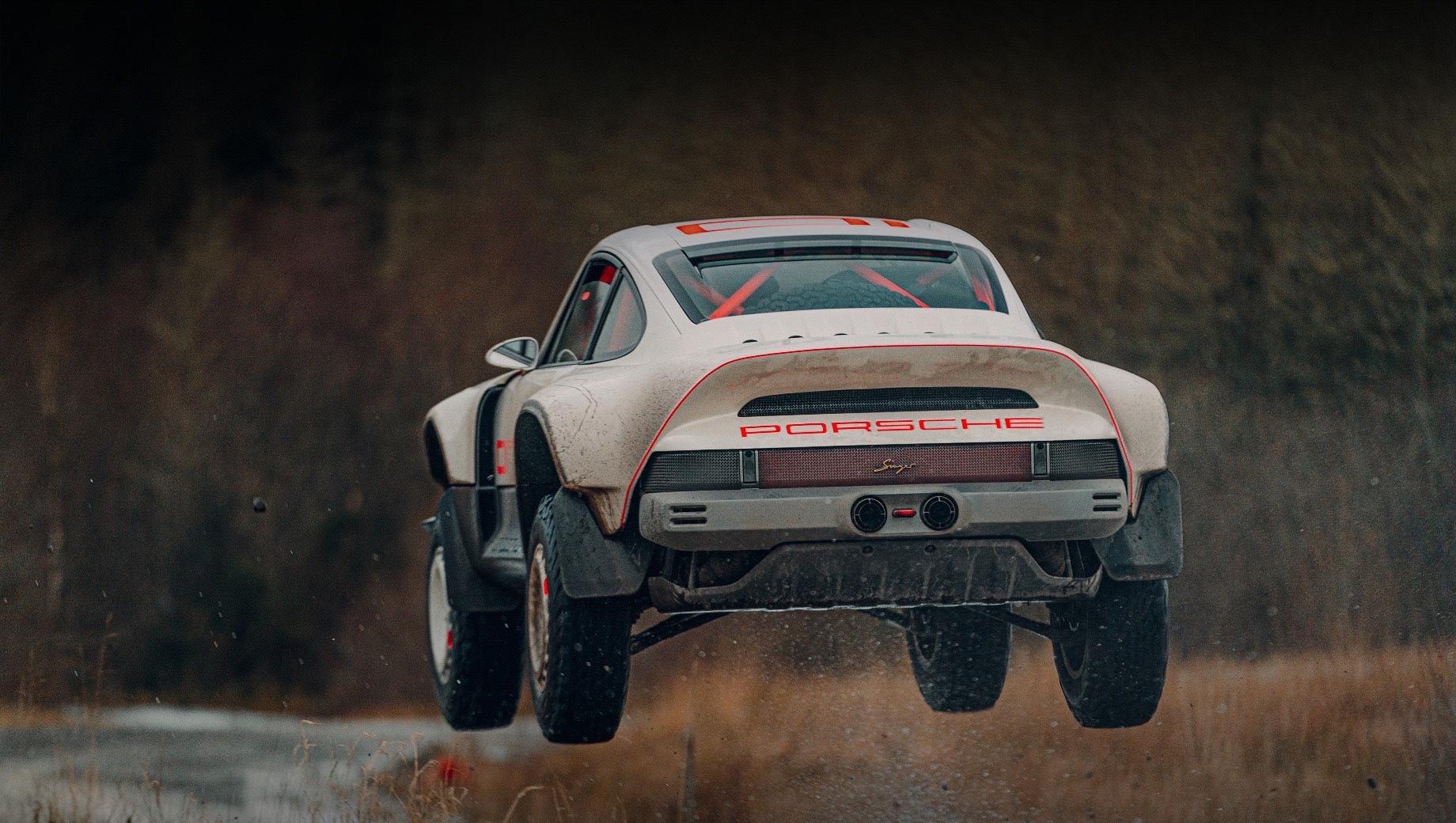 Ралли-кар Singer ACS лишится надписей Porsche на кузове