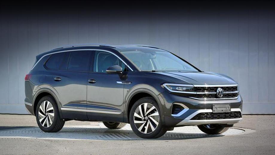 Большой паркетник Volkswagen Talagon сбросил камуфляж