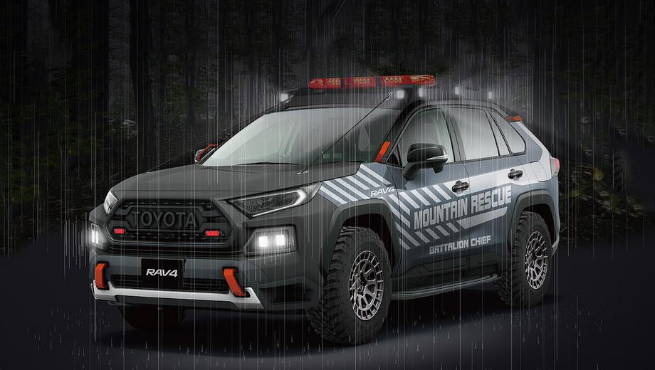 Toyota RAV4 Mountain Rescue напомнит о труде спасателей