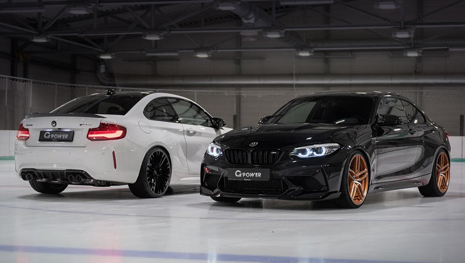 Ателье G-Power подарило вторую жизнь купе BMW M2 CS