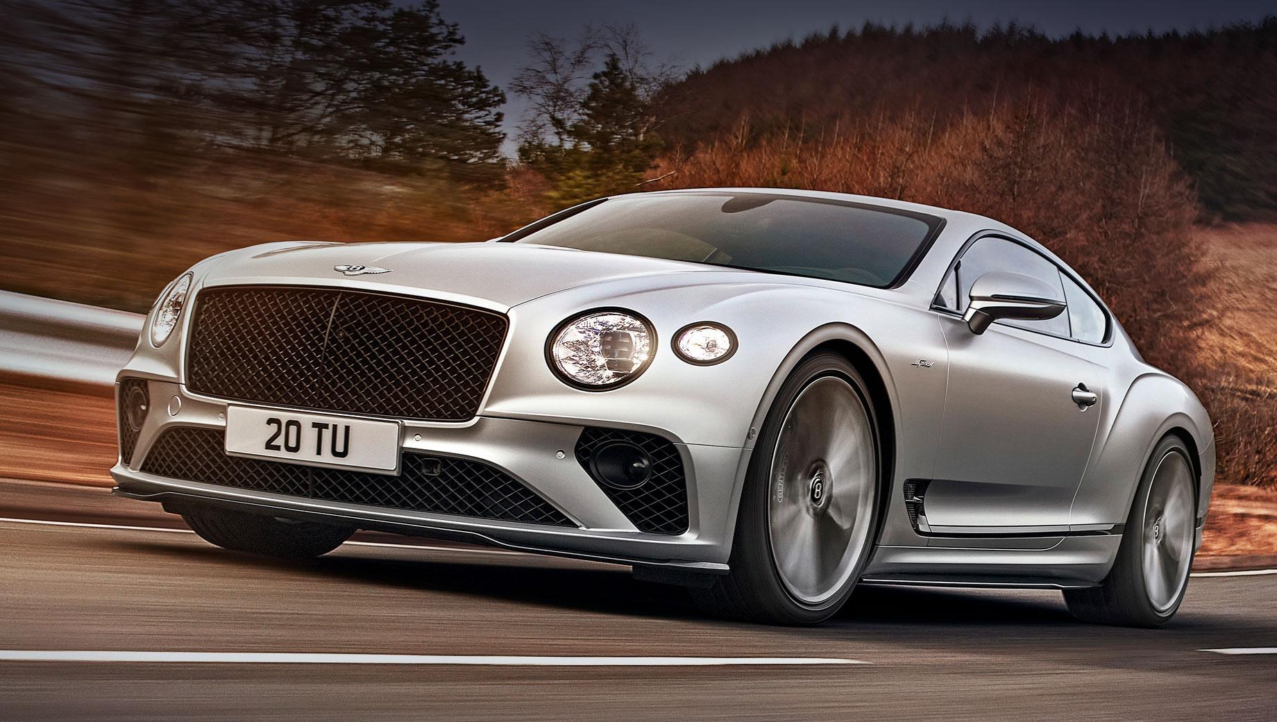 Bentley Continental GT Speed сделал упор на управляемость