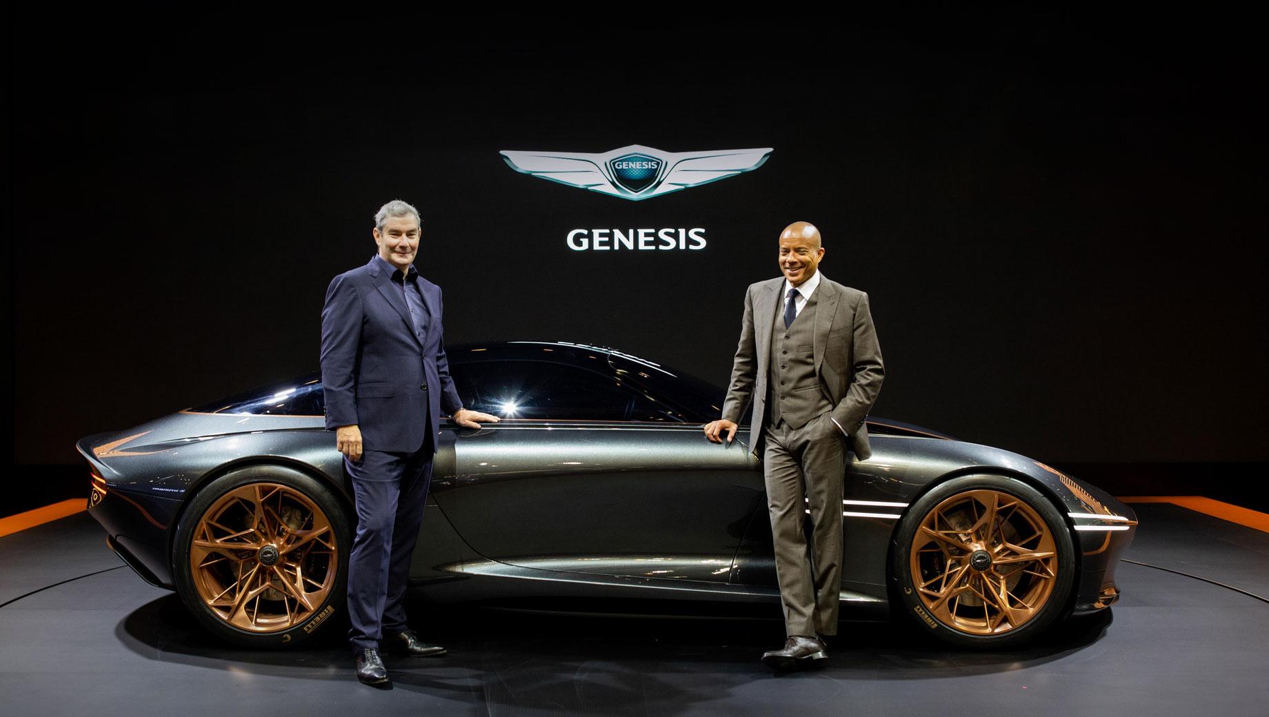Genesis анонсировал концепт электрического купе