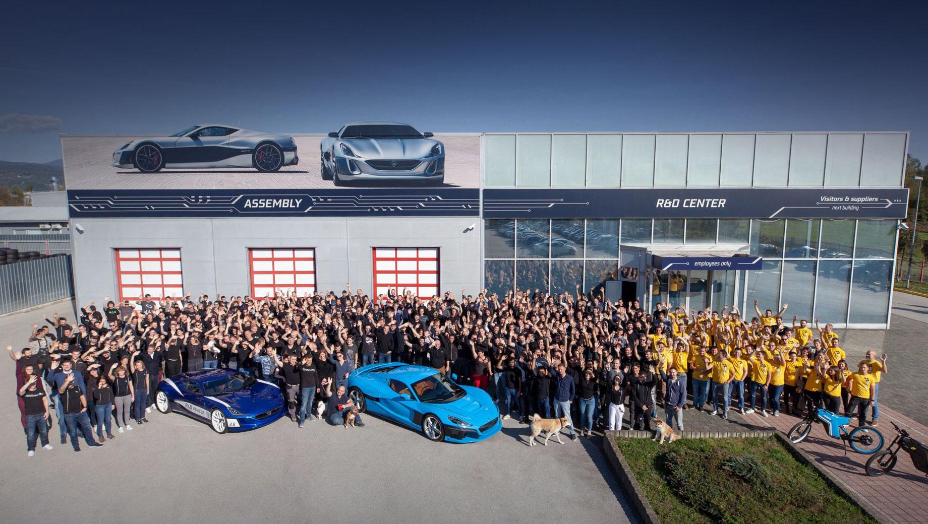 Rimac Automobili откроет центр разработок в Великобритании