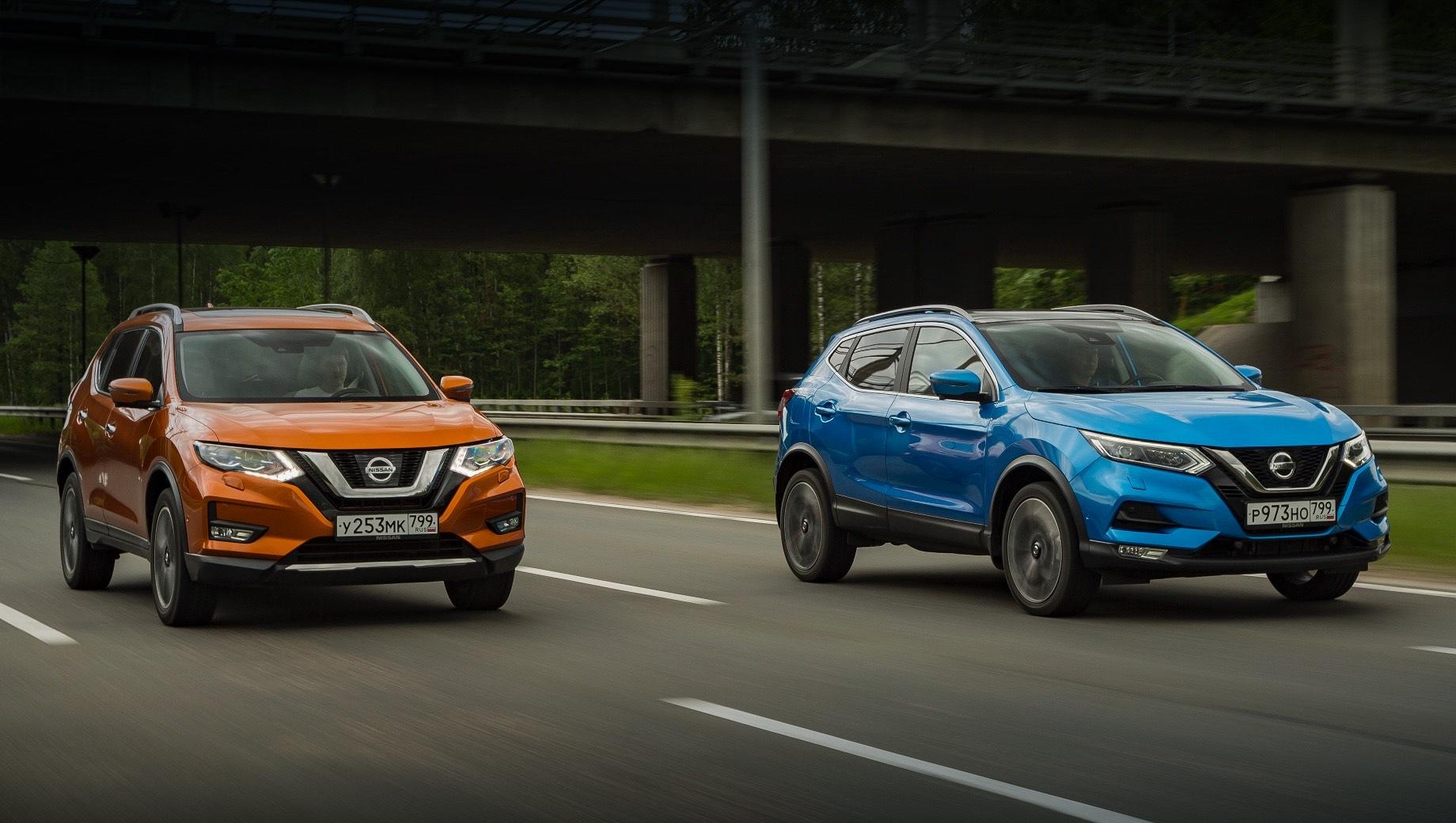 Nissan Qashqai и X-Trail оснастили полуавтопилотом в России
