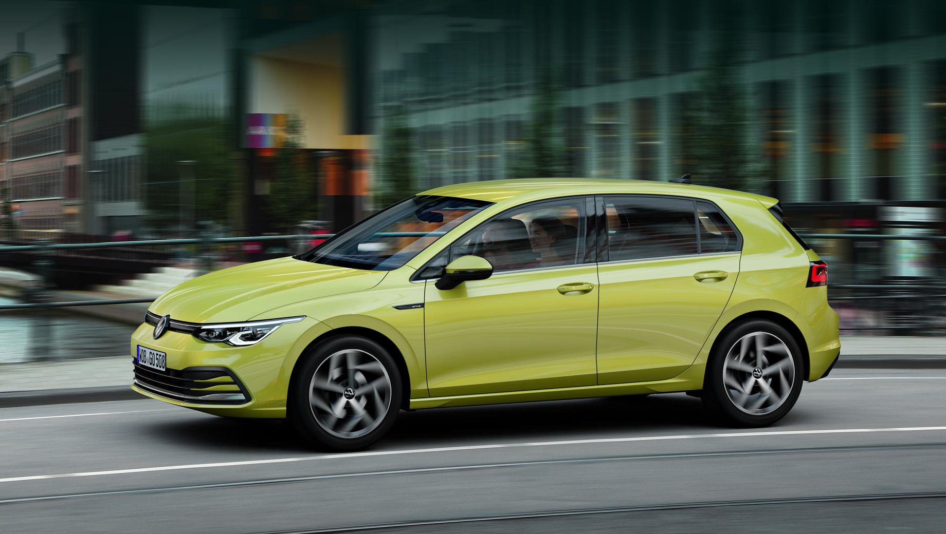 Volkswagen Golf VIII в России шагнул за отметку в 2,5 миллиона рублей