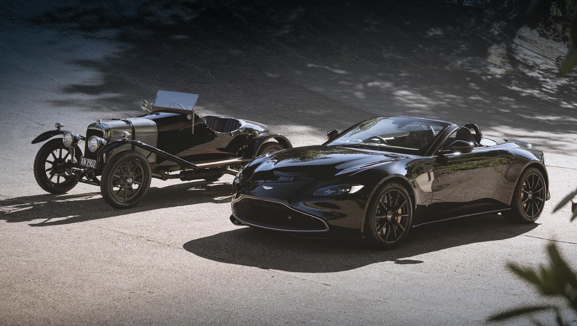 Родстер Aston Martin Vantage A3 примерит столетние фишки