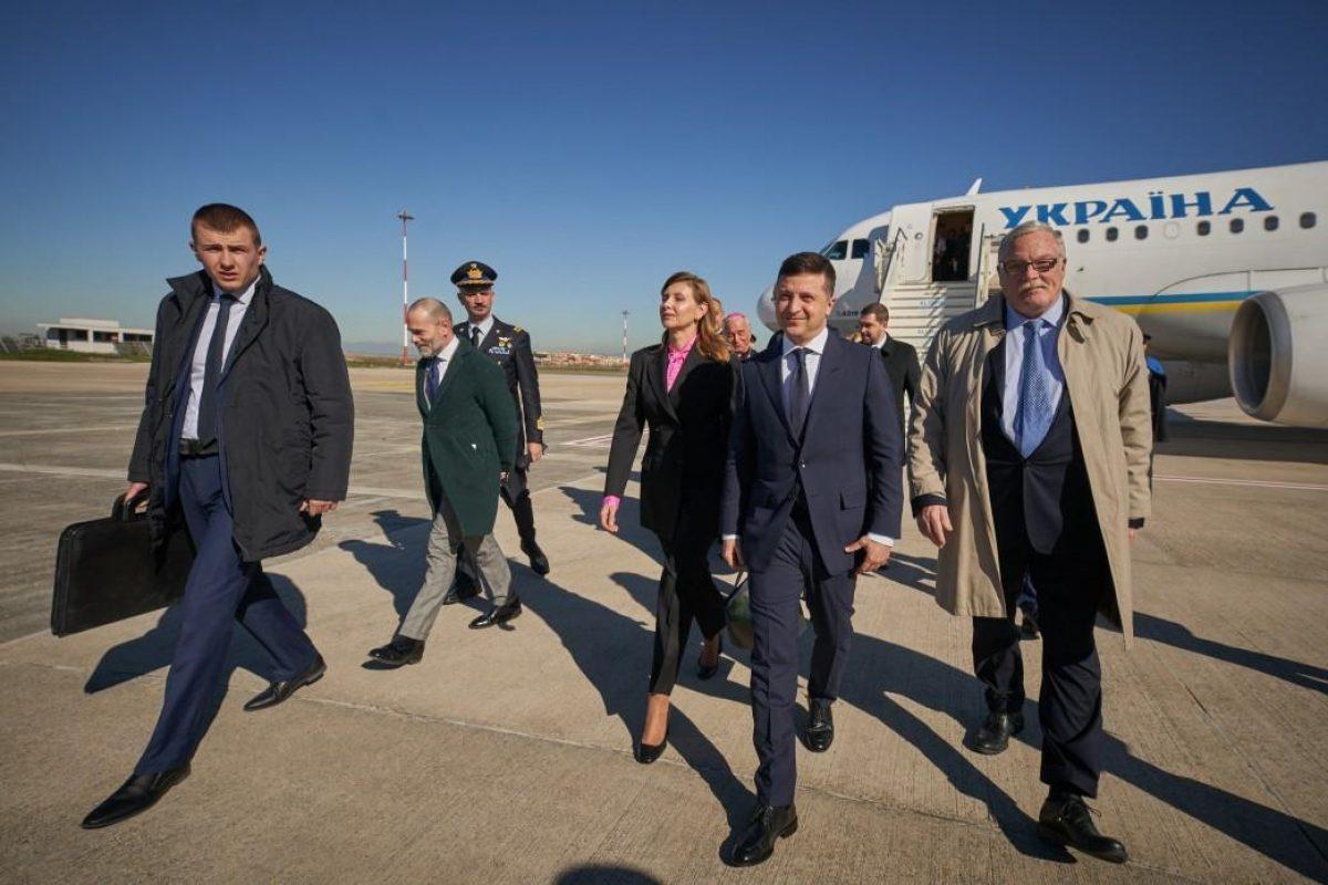 Зеленский едет с официальным визитом в ОАЭ, на повестке дня - торговля и инвестиции