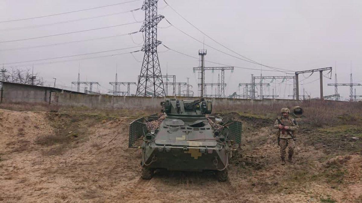 ВСУ провели противодиверсионные учения возле оккупированного Крыма