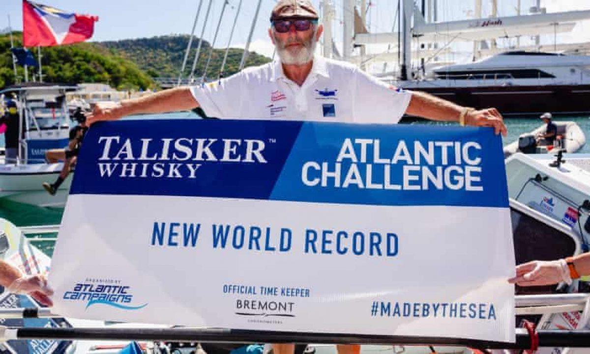 70-летний британец самостоятельно пересек Атлантический океан