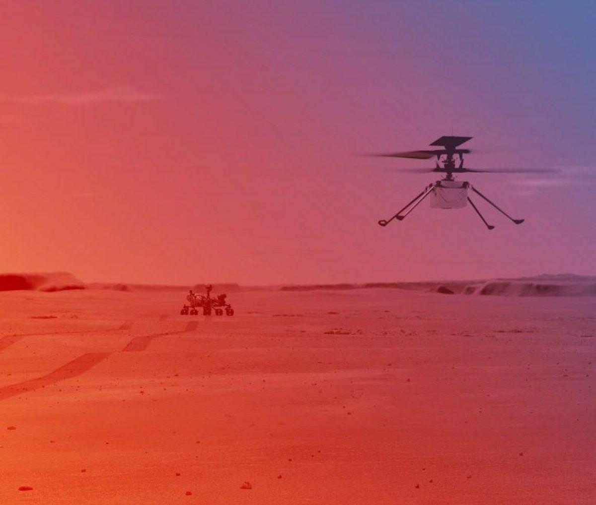 Newsweek: Вертолет NASA совершит исторический полет на Марсе, какие трудности его ждут?