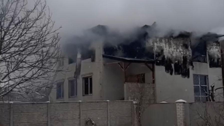 Трое человек задержаны по делу о смертельном пожаре в Харькове