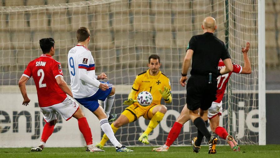 Сборная России по футболу прилетела в Сочи