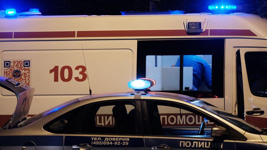 Три автомобиля столкнулись в центре Москвы