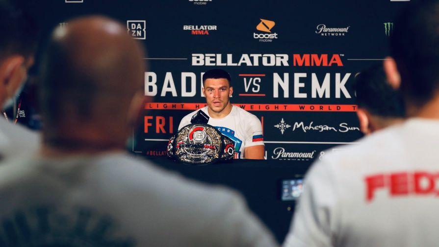 Чемпион Bellator Немков высказался об анонсе Гран-при в полутяжелом весе
