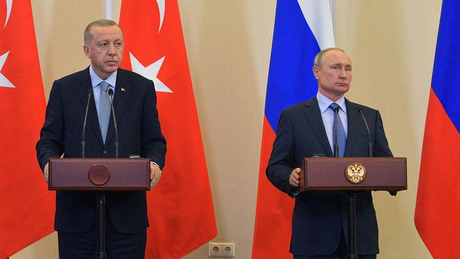 Эрдоган считает Путина человеком, который держит свое слово