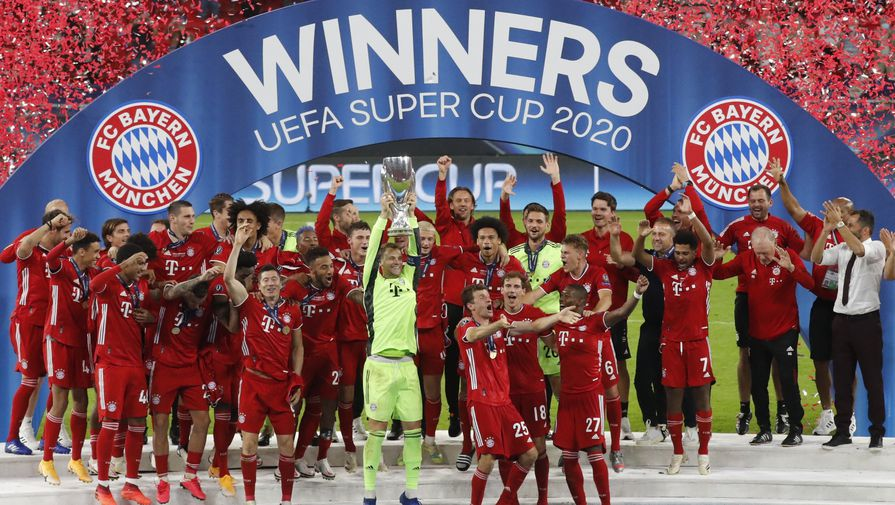 'Бавария' признана лучшим клубом 2020 года