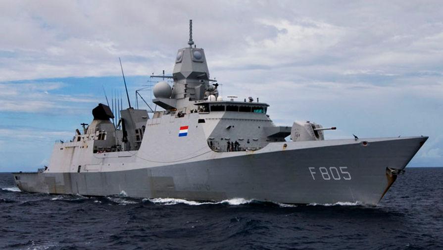 В Минобороны прокомментировали инцидент с голландским фрегатом у Керченского пролива