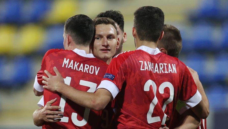 Стал известен состав молодежной сборной России на игру с Францией