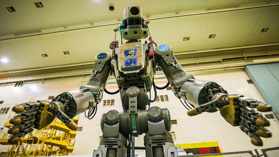 Эксперт назвал робота Федора возможной причиной трещины на МКС