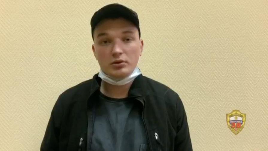 Появилось видео допроса блогера Била, устроившего ДТП в центре Москвы