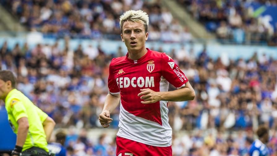 'Монако' Головина крупно уступил 'Лансу' в матче Лиги 1