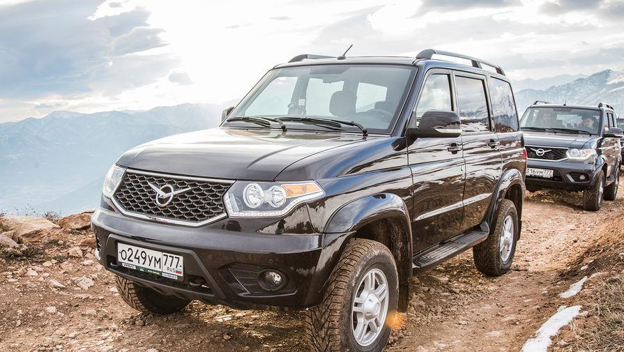 Российский УАЗ 'Патриот' начнут продавать в США