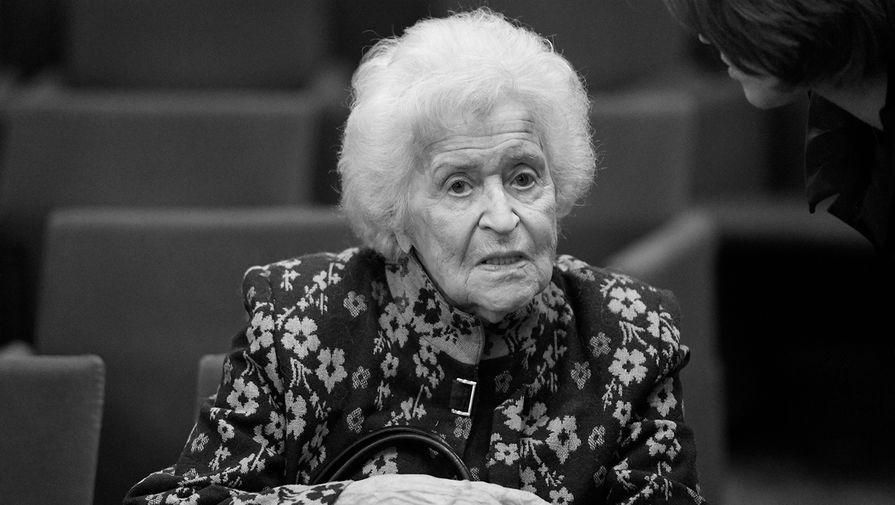 Ирину Антонову похоронили в Москве