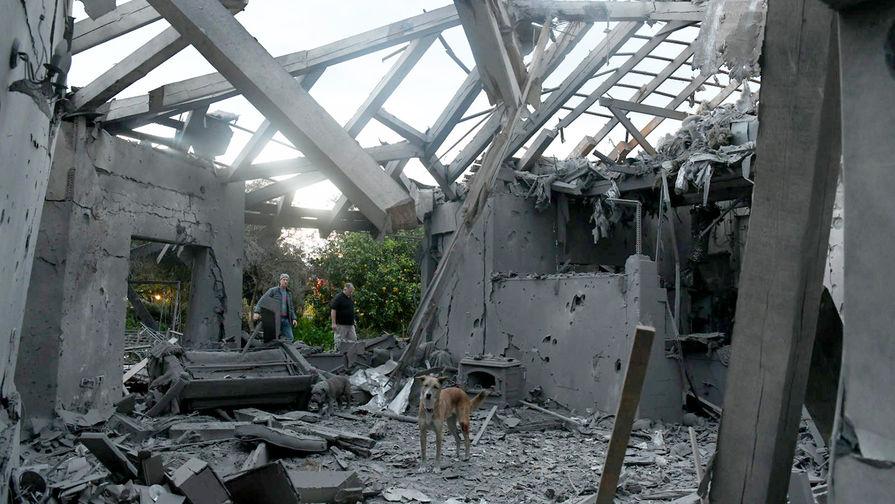 Более 20 человек пострадали при сильном взрыве в секторе Газа