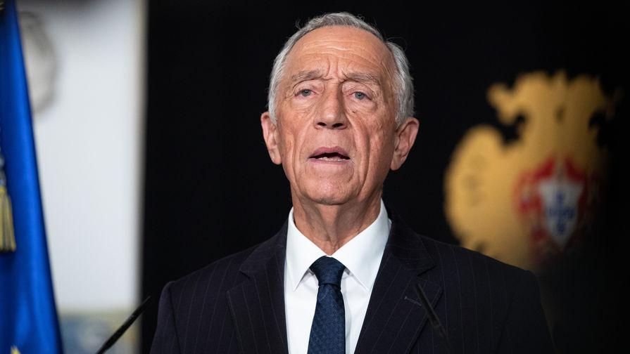 Президент Португалии получил положительный тест на COVID-19