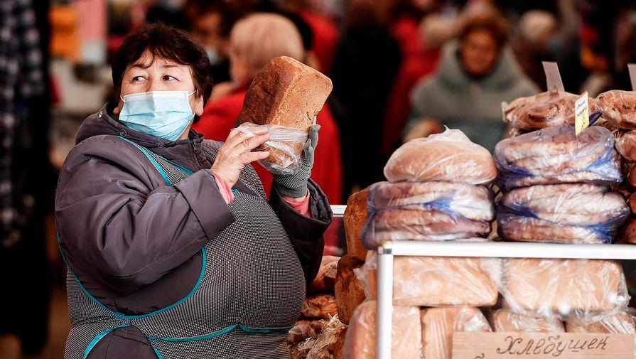 Россияне в январе стали тратить больше денег на продукты питания