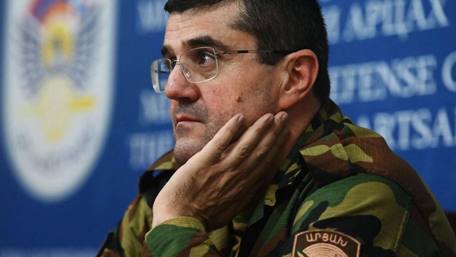 Президент НКР поблагодарил Путина за помощь Нагорному Карабаху
