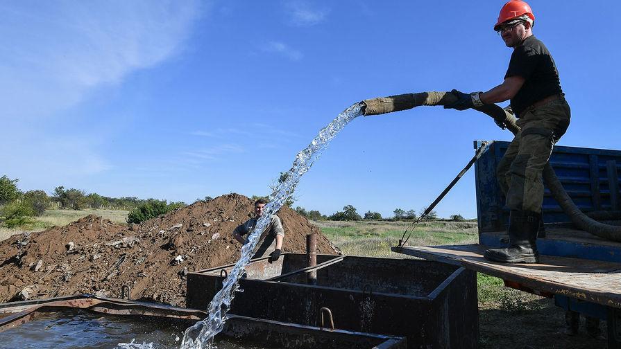 В Крыму заявили об отсутствии планов воевать с Украиной за воду