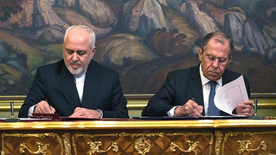 Лавров проведет переговоры с Зарифом в Москве