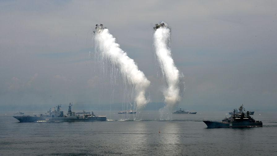 Российские военные следят за разведывательным кораблем Франции в Японском море