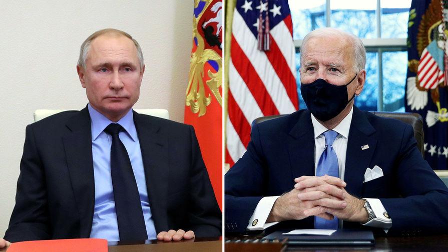 Байдена спросили, согласен ли он поговорить с Путиным