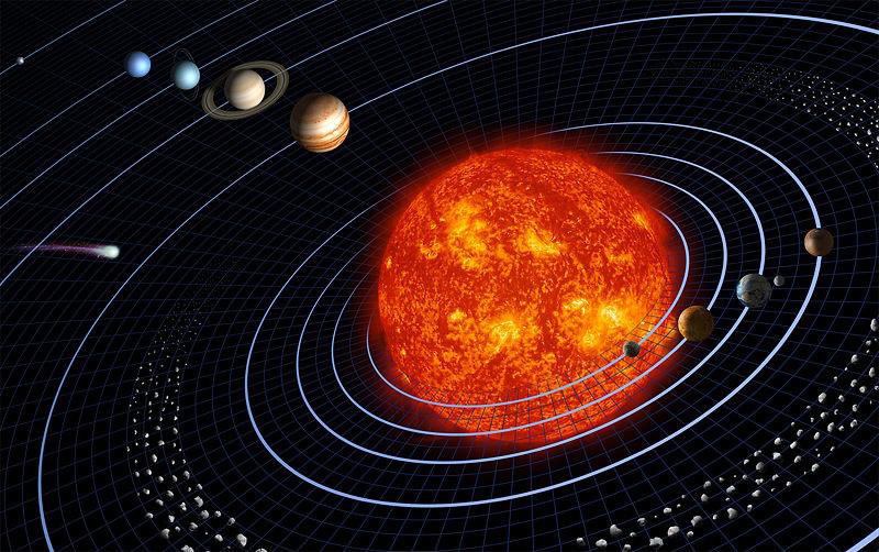 Ученые обнаружили след гигантского метеорита в Солнечной системе