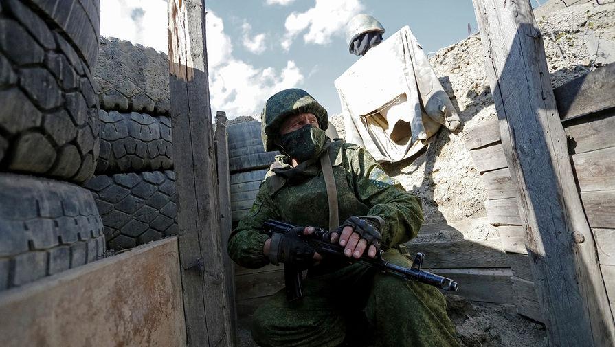 В ДНР заявили, что украинский снайпер убил сотрудника МВД во время эвакуации детей