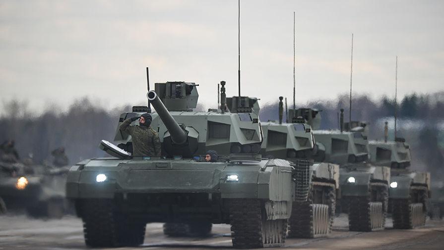 Серийное производство танка 'Армата' начнется в 2022 году