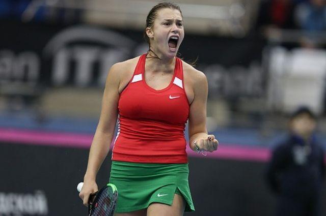 Белорусская теннисистка Соболенко вышла в финал турнира WTA в Абу-Даби